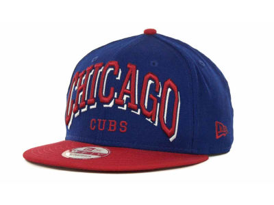 Chicago Cubs MLB Mark Strapback 9FIFTY Cap Hats