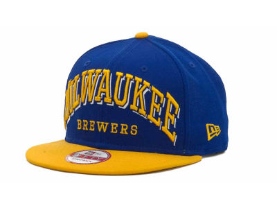 Milwaukee Brewers MLB Mark Strapback 9FIFTY Cap Hats