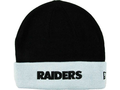 Oakland Raiders NFL 2T Cuff Knit Hats