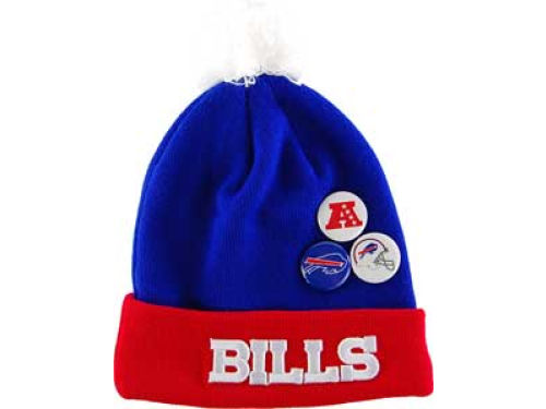 Buffalo Bills New Era NFL Button Up Knit Hats