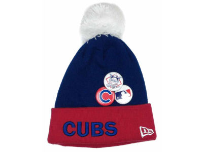 Chicago Cubs MLB Youth Button Up Knit Hats
