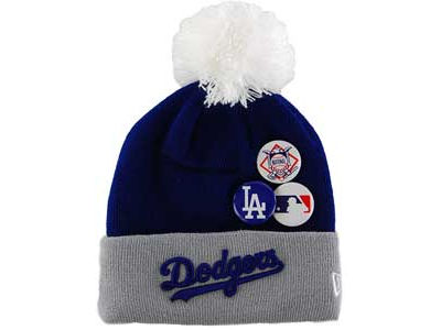 Los Angeles Dodgers MLB Youth Button Up Knit Hats