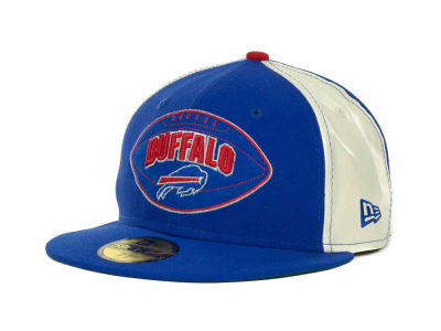 Buffalo Bills NFL Retro Patch 59FIFTY Cap Hats