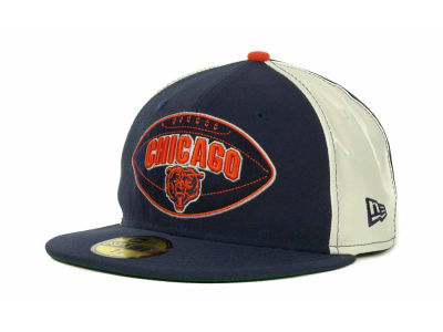 Chicago Bears NFL Retro Patch 59FIFTY Cap Hats