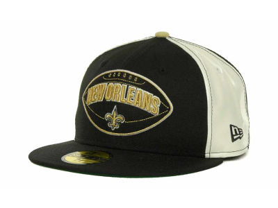 New Orleans Saints NFL Retro Patch 59FIFTY Cap Hats