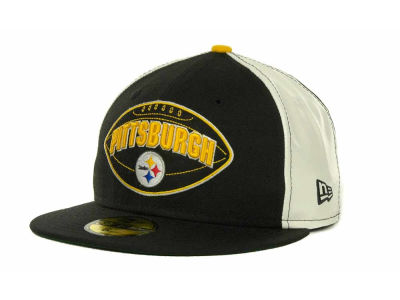 Pittsburgh Steelers NFL Retro Patch 59FIFTY Cap Hats