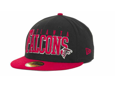 Atlanta Falcons NFL Chop Block 59FIFTY Cap Hats