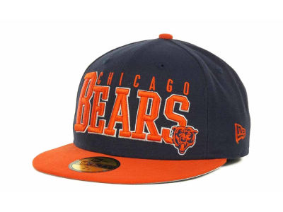 Chicago Bears NFL Chop Block 59FIFTY Cap Hats
