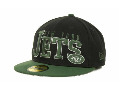 New York Jets NFL Chop Block 59FIFTY Cap Hats