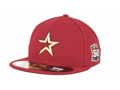 Houston Astros MLB AC On Field 9-11 Patch 59FIFTY Hats