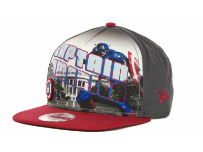 Marvel Hero Post Snapback 9FIFTY Cap Hats