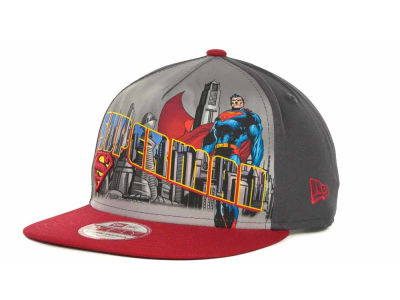 DC Comics Superman Hero Post Snapback 9FIFTY Cap Hats