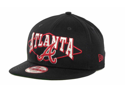 Atlanta Braves MLB Geo Block Snap 9FIFTY Cap Hats