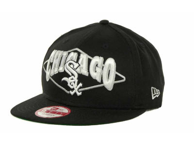 Chicago White Sox MLB Geo Block Snap 9FIFTY Cap Hats