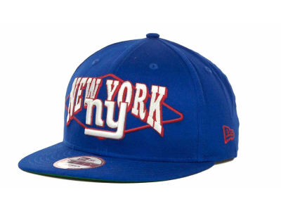 New York Giants NFL Geo Block Snapback 9FIFTY Cap Hats