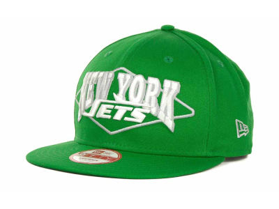 New York Jets NFL Geo Block Snapback 9FIFTY Cap Hats