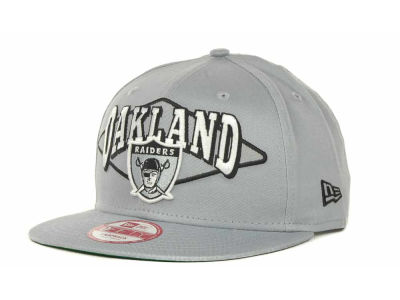 Oakland Raiders NFL Geo Block Snapback 9FIFTY Cap Hats