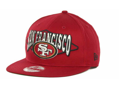 San Francisco 49ers NFL Geo Block Snapback 9FIFTY Cap Hats
