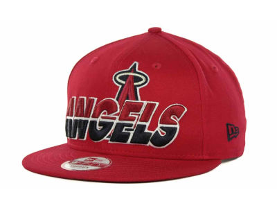 Los Angeles Angels of Anaheim MLB Team Horizon Snapback 9FIFTY Cap Hats