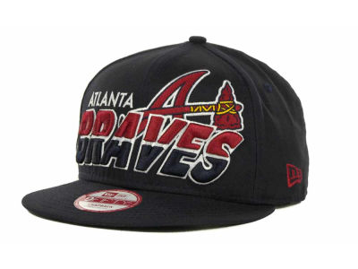 Atlanta Braves MLB Team Horizon Snapback 9FIFTY Cap Hats