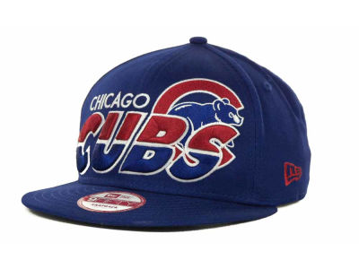 Chicago Cubs MLB Team Horizon Snapback 9FIFTY Cap Hats