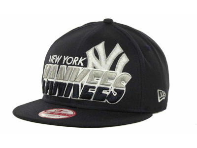 New York Yankees MLB Team Horizon Snapback 9FIFTY Cap Hats