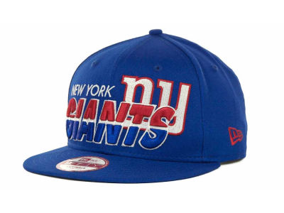New York Giants NFL Team Horizon Snapback 9FIFTY Cap Hats