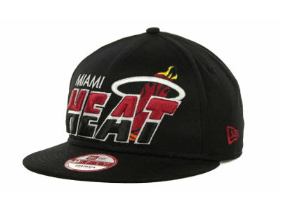 Miami Heat NBA Hardwood Classics Team Horizon Snapback 9FIFTY Cap Hats