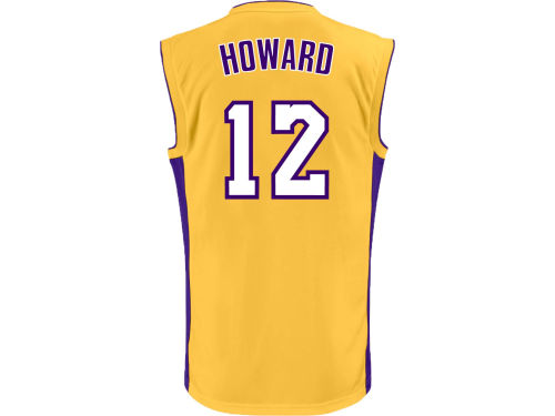 Los Angeles Lakers Dwight Howard adidas NBA Rev 30 Replica Jersey