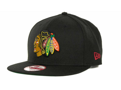 Chicago Blackhawks NHL Base Snapback 9FIFTY Cap Hats