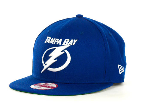 Tampa Bay Lightning New Era NHL Base Snapback 9FIFTY Cap Hats