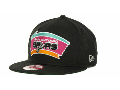 San Antonio Spurs NBA Hardwood Classics Base Snapback 9FIFTY Cap Hats