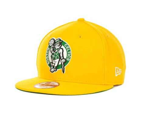 Boston Celtics New Era NBA Hardwood Classics Base Snapback 9FIFTY Cap Hats