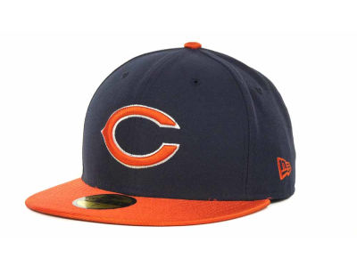 Chicago Bears NFL Jersey Basic 59FIFTY Cap Hats