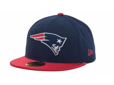 New England Patriots NFL Jersey Basic 59FIFTY Cap Hats