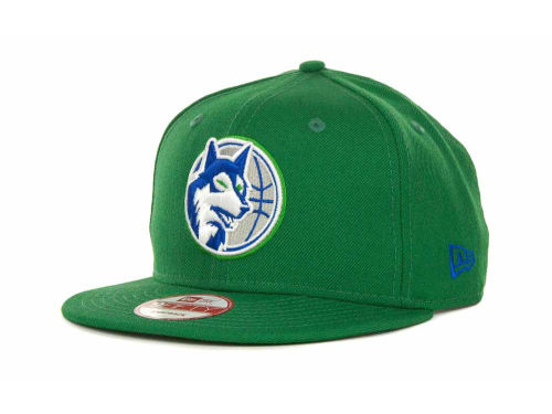 Minnesota Timberwolves New Era NBA Hardwood Classics Base Snapback 9FIFTY Cap Hats