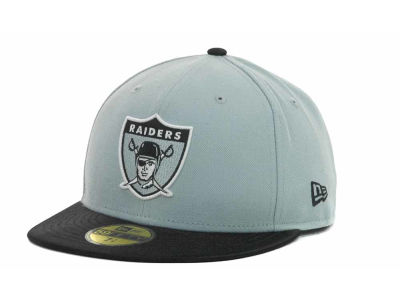 Oakland Raiders NFL Jersey Basic 59FIFTY Cap Hats