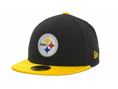 Pittsburgh Steelers NFL Jersey Basic 59FIFTY Cap Hats