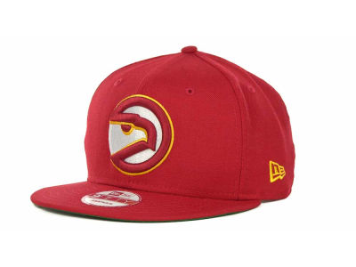 Atlanta Hawks NBA Hardwood Classics Base Snapback 9FIFTY Cap Hats