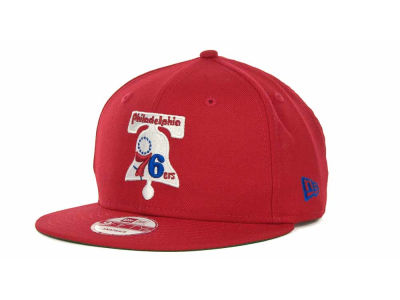 Philadelphia 76ers NBA Hardwood Classics Base Snapback 9FIFTY Cap Hats