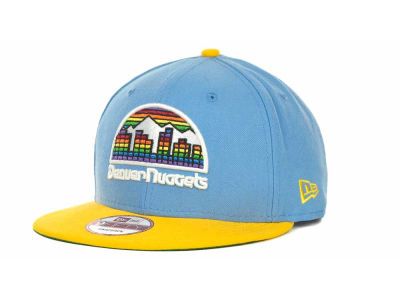 Denver Nuggets NBA Hardwood Classics Base Snapback 9FIFTY Cap Hats