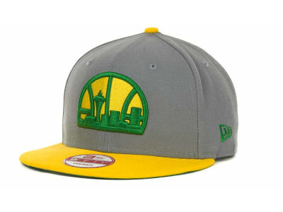 Seattle SuperSonics NBA Hardwood Classics Base Snapback 9FIFTY Cap Hats