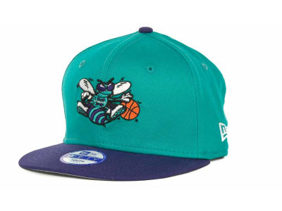 New Orleans Hornets NBA Hardwood Classics Youth Base Snap 9FIFTY Cap Hats