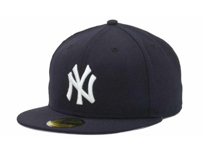 New York Yankees MLB 1999-2006 59FIFTY Game Cap Hats