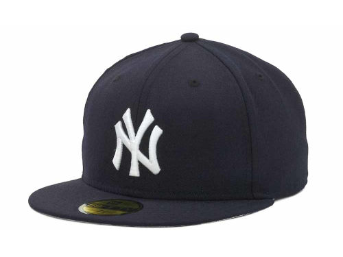 New York Yankees New Era MLB 1999-2006 59FIFTY Game Cap Hats