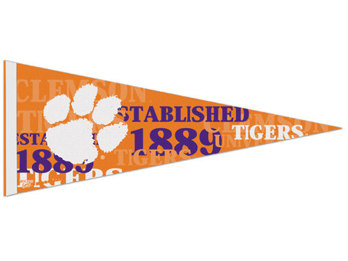 Clemson Tigers Wincraft 12x30in Pennant