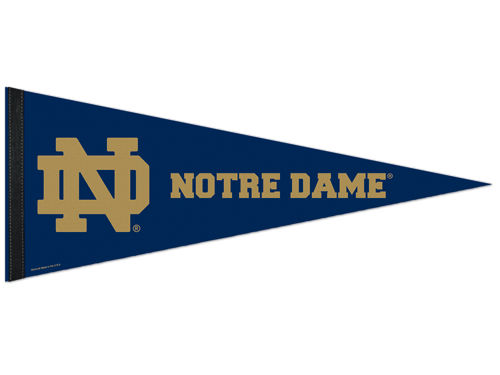 Notre Dame Fighting Irish Wincraft 12x30 Premium Pennant