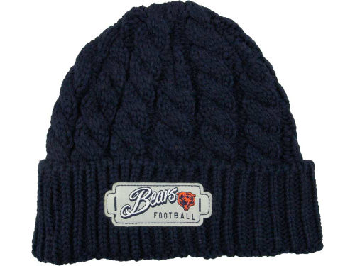 Chicago Bears New Era NFL Winter Weave Knit Hats