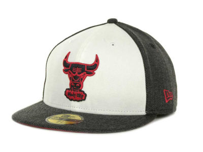 Chicago Bulls NBA Bone 59FIFTY Cap Hats