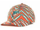 Miami Dolphins New Era NFL Zubaz 39THIRTY Cap Stretch Fitted Hats